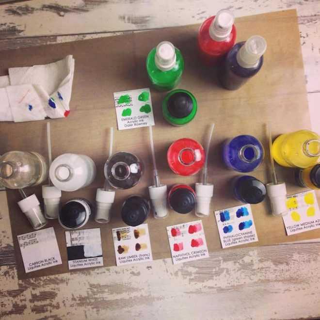 acrylic sprays