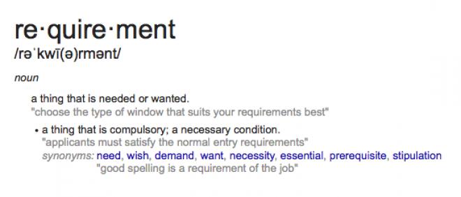 Its A Requirement, Not A Reward!