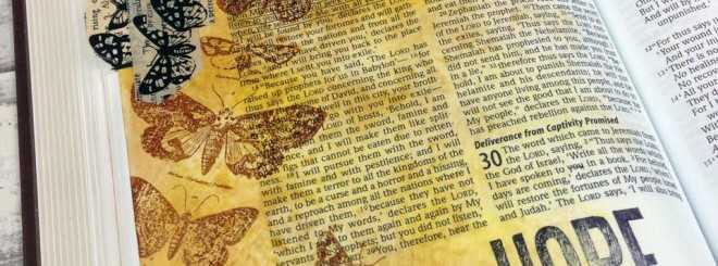 Archival Ink – Bible Art Journaling Challenge Week 14