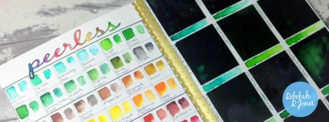 Peerless Watercolor Palette Tutorial