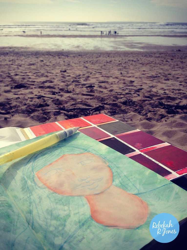 peerless-watercolor-palette-at-the-beach