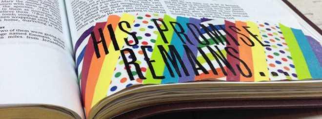 Washi Tape Idea – Bible Art Journaling Challenge Week 19