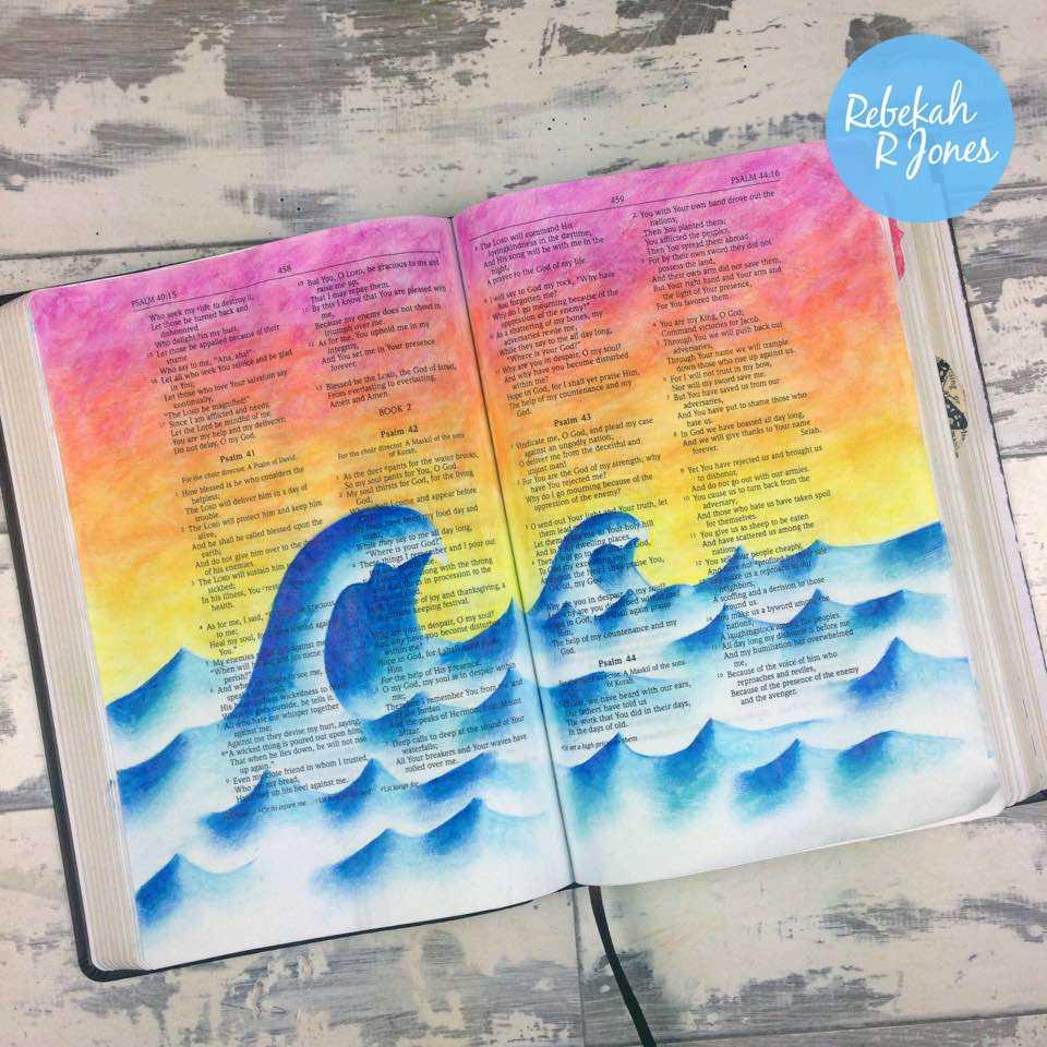 Faber-Castell Pitt Artist Pens Tutorial – Bible Art Journaling Challenge Week 20