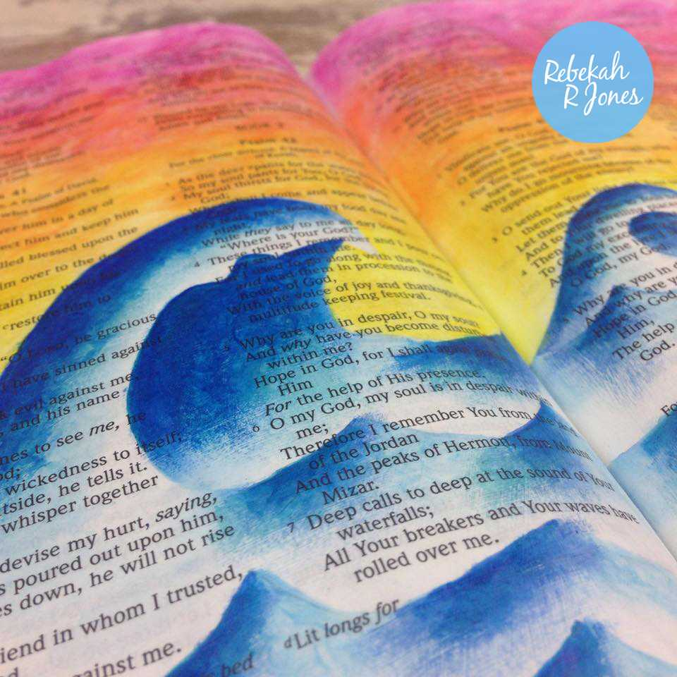 Faber-Castell Pitt Artist Pens Tutorial – Bible Art Journaling Challenge Week 20