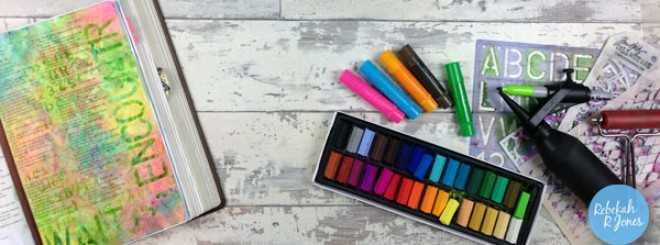 Bible Art Journaling Challenge Week 27