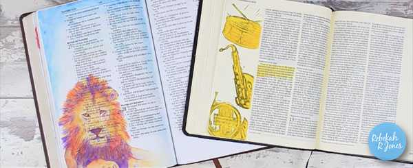 Bible Art Journaling Supplies