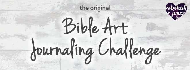 the original Bible Art Journaling Challenge