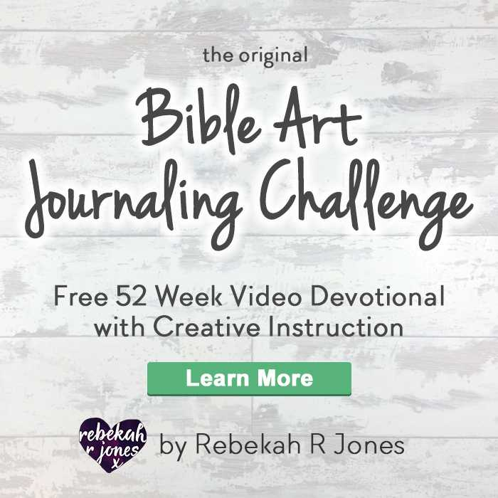 the original Bible Art Journaling Challenge