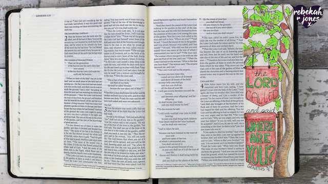 Heaven Is Calling Lesson Two - A Bible Art Journaling Challenge Series