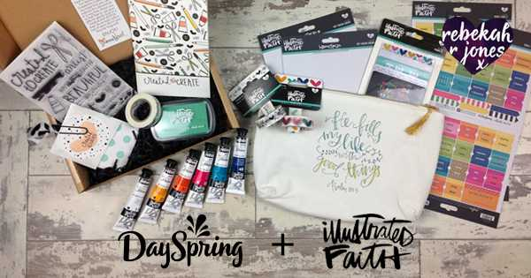 Illustrated Faith Partner With Dayspring - A Quick Review