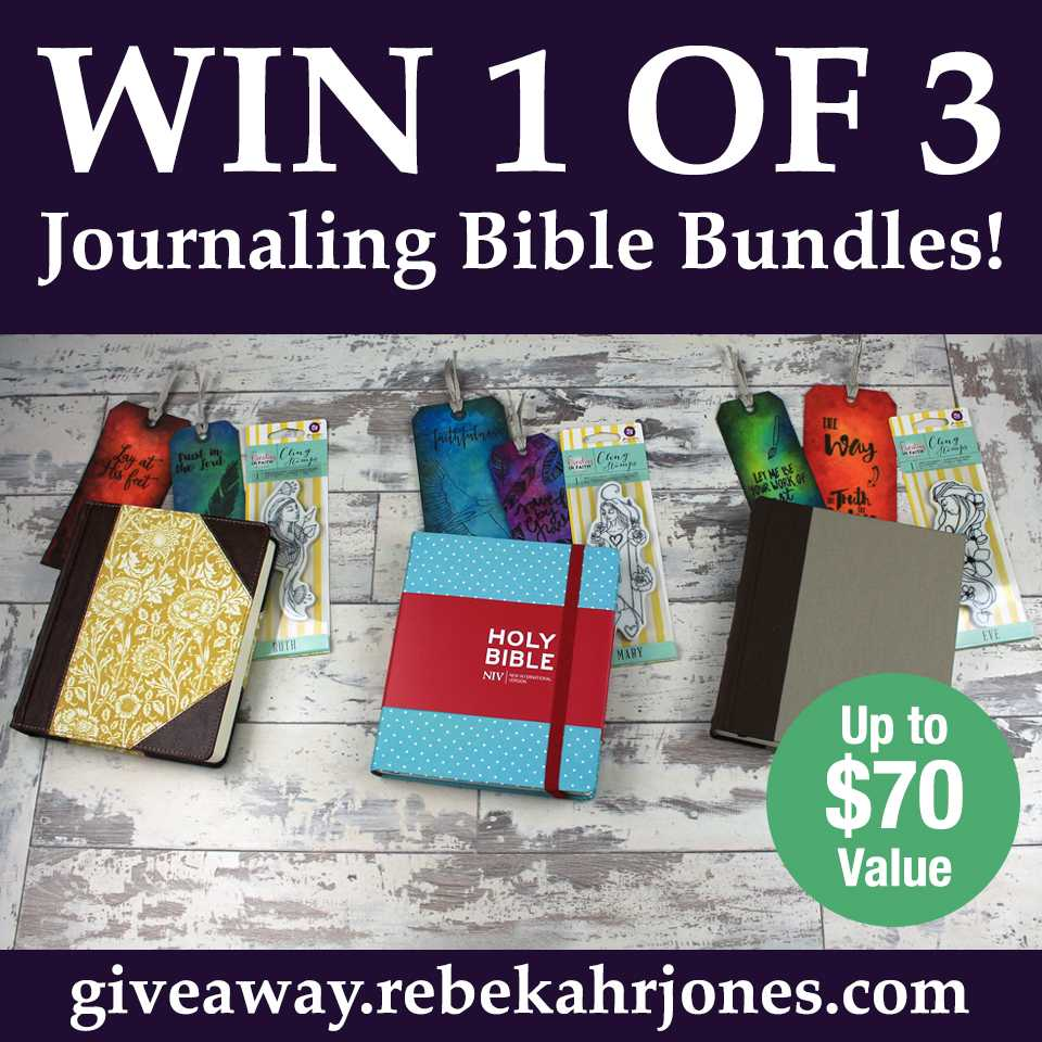 Journaling Bible Bundle Giveaway!