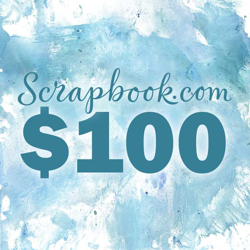 Rebekah R Jones Scrapbook.Com Class Launch $100 Shopping Spree Giveaway