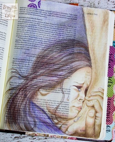 Brigitta Litfin Bible Journaling