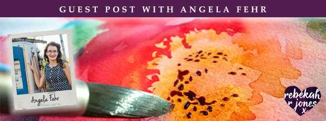 Guest Post with Angela Fehr on Color Mixing with Watercolor