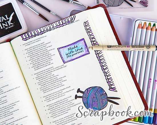 Inspired Faith: Art Journaling In Your Bible with Rebekah R Jones
