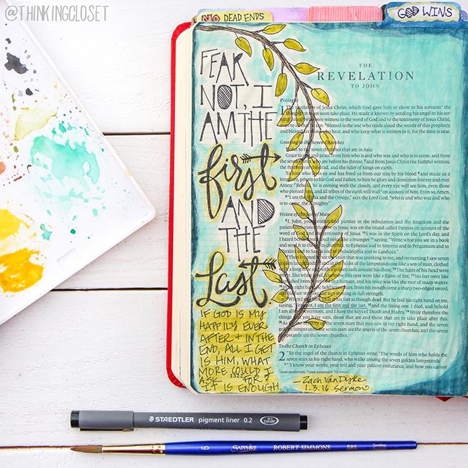 Lauren Lanker Bible Journaling