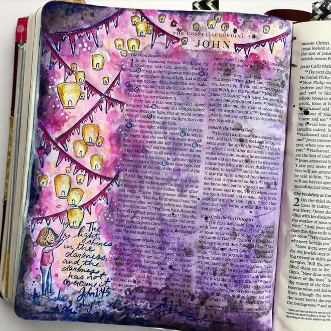 Melissa Fischer Bible Journaling