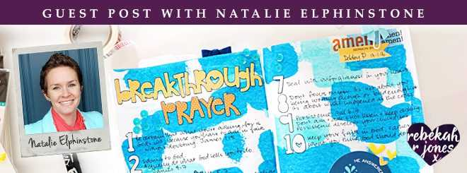 Guest Post With Natalie Elphinstone on Faith Journaling