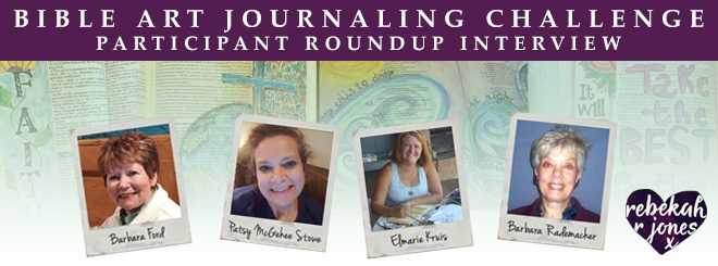 Bible Art Journaling Challenge Participant Roundup Interview