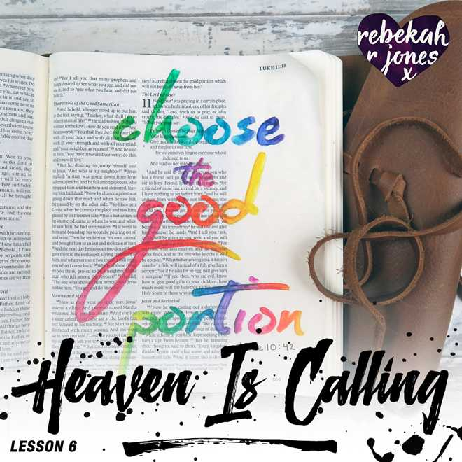 Heaven Is Calling Lesson 6