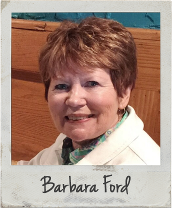 Barbara Ford - Bible Art Journaling Challenge Participant