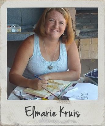 Elmarie Kruis - Bible Art Journaling Challenge Participant