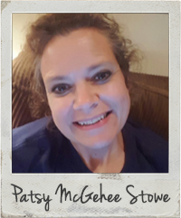 Patsy McGehee Stowe - Bible Art Journaling Challenge Participant