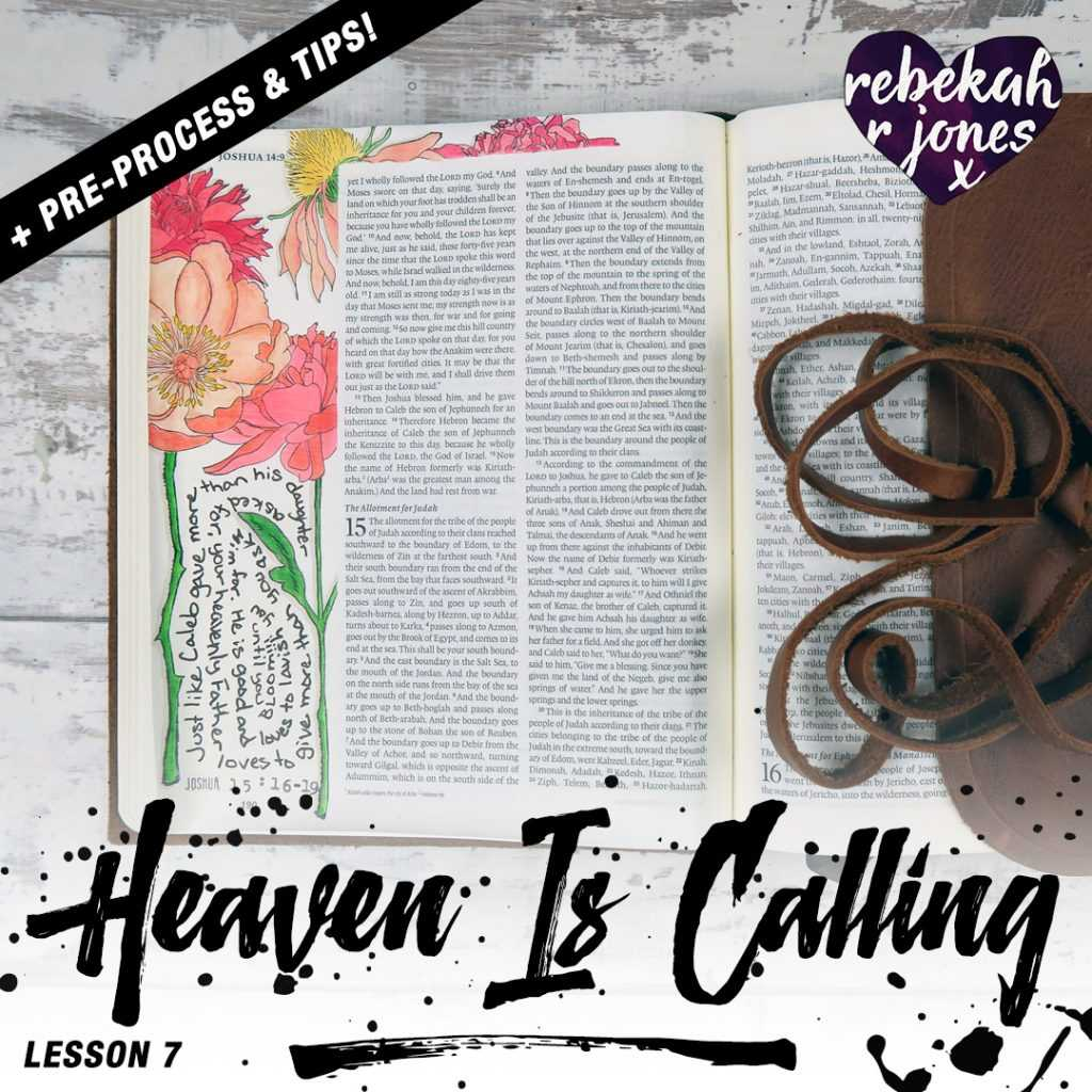 Heaven Is Calling Lesson 7