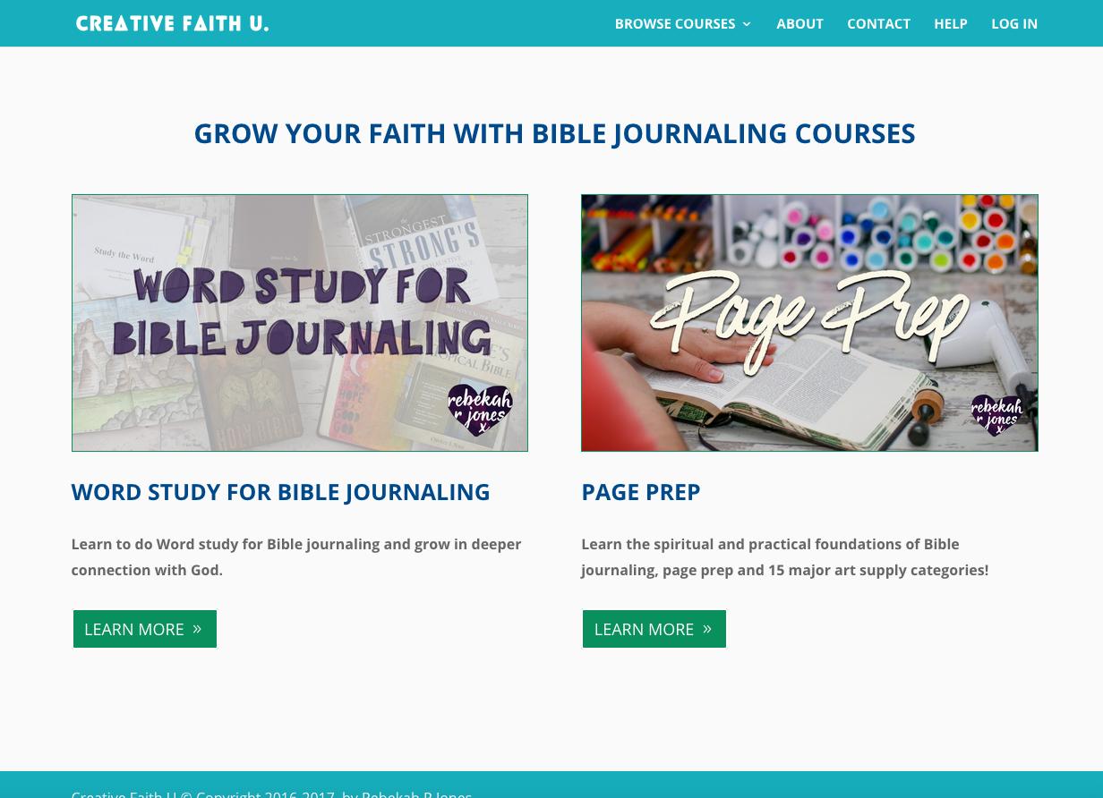 Creative Faith U School Preview