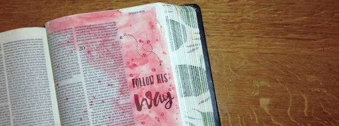 My 2 Biggest Bible Journaling Mistakes & What I Learned From Them