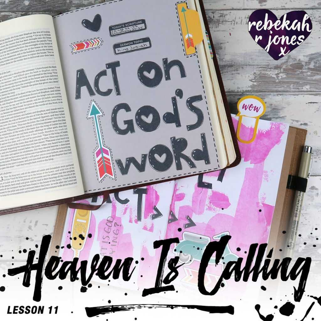 Heaven Is Calling Lesson 11 - What Is God Saying?