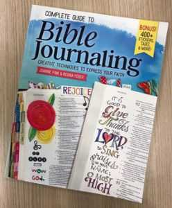 Complete Guide To Bible Journaling book