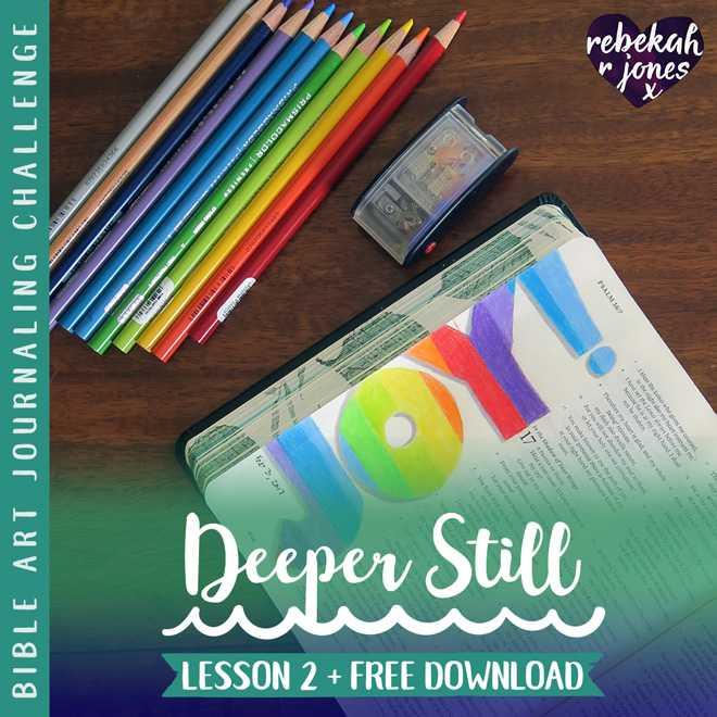 Deeper Still Lesson 2