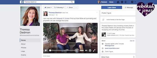 Rebekah R Jones Create Talks Theresa Dedmon Interview