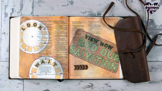 Deeper Still Lesson 5 - Mixed Media Bible Journaling Techniques
