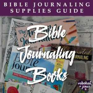 Bible Journaling Books