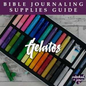 Bible Journaling Supplies Gelatos