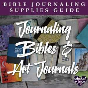 Journaling Bibles and Art Journals