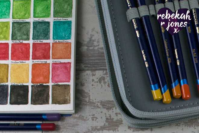 Lion Cubs Underpainting, Inktense Pencils - Deeper Still Lesson 11
