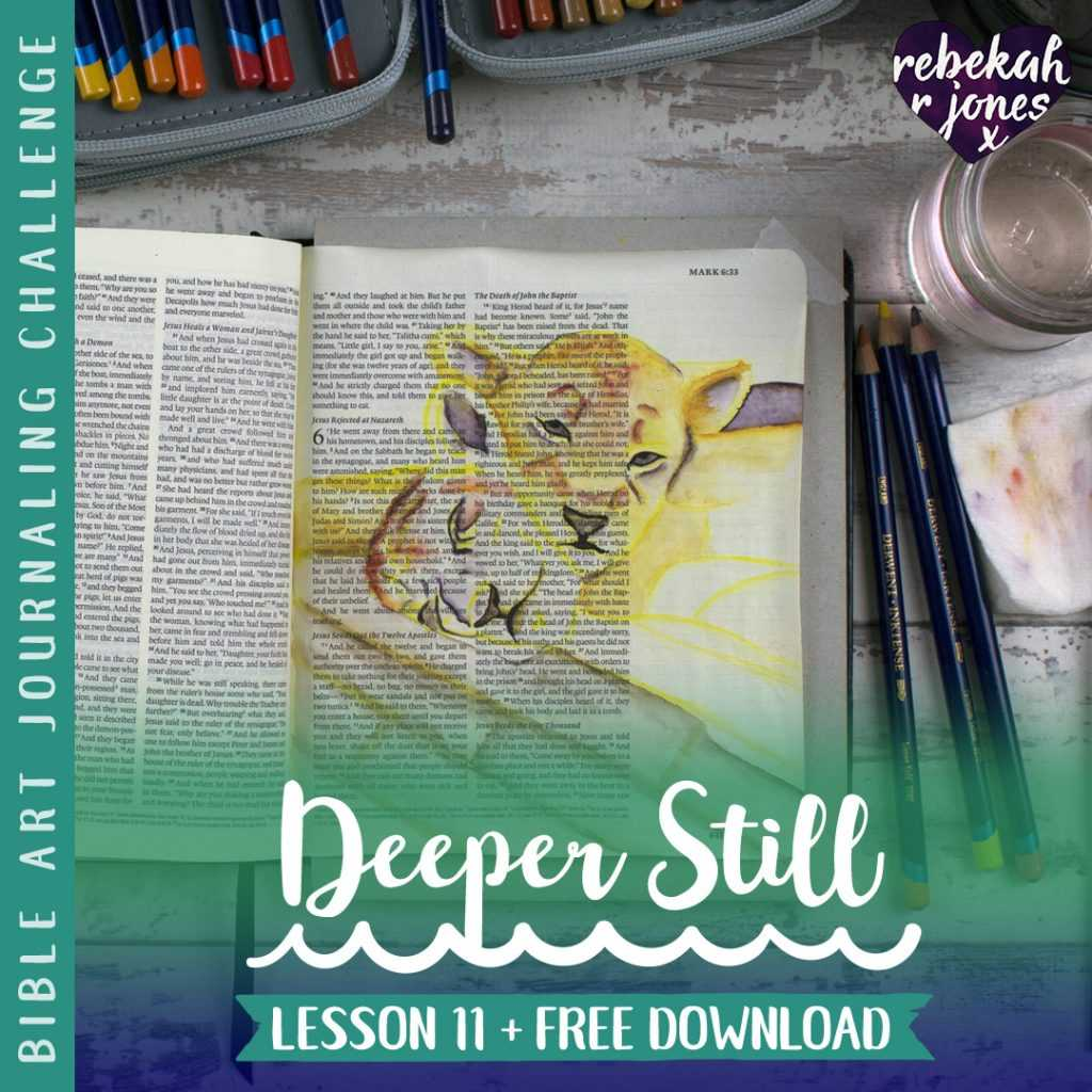 Lion Cubs Underpainting - Deeper Still Lesson 11