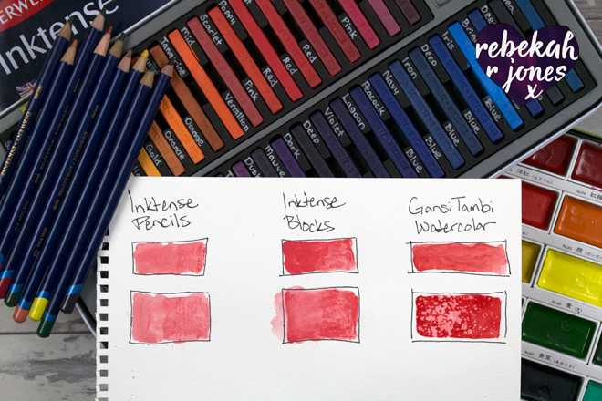 Paint A Galaxy With Inktense Blocks - Deeper Still Lesson 9