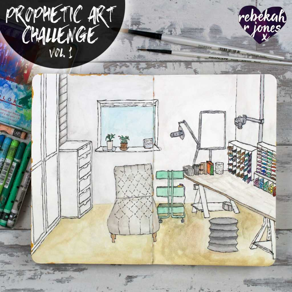 Perspective Drawing - Prophetic Art Challenge Vol. 1, Lesson 3