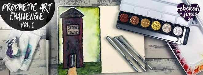 Elegant Writer Pen Art - Prophetic Art Challenge Vol. 1, Lesson 5