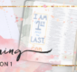 The Beginning Bible Art Journaling Challenge Lesson 1
