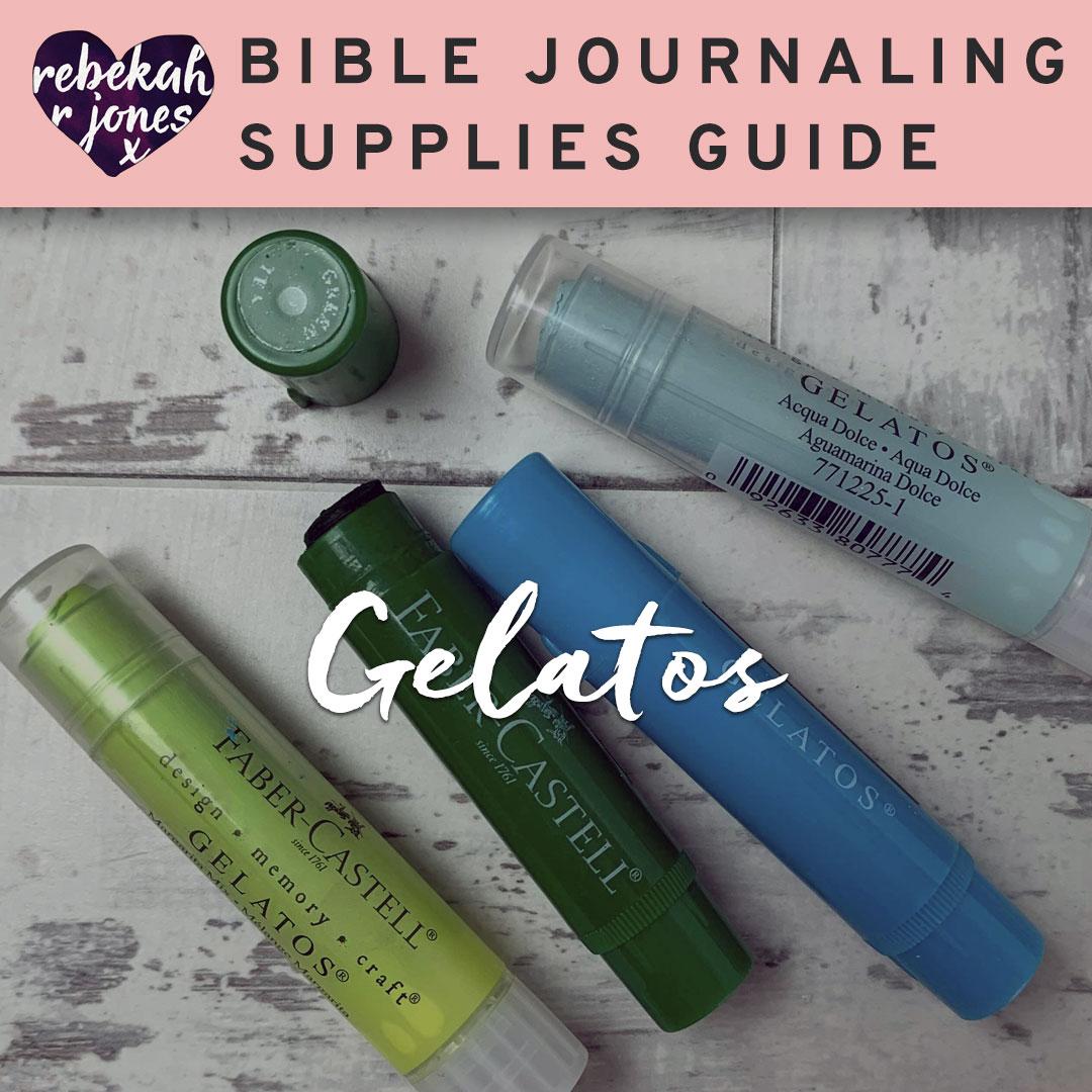 Bible Journaling Gelatos