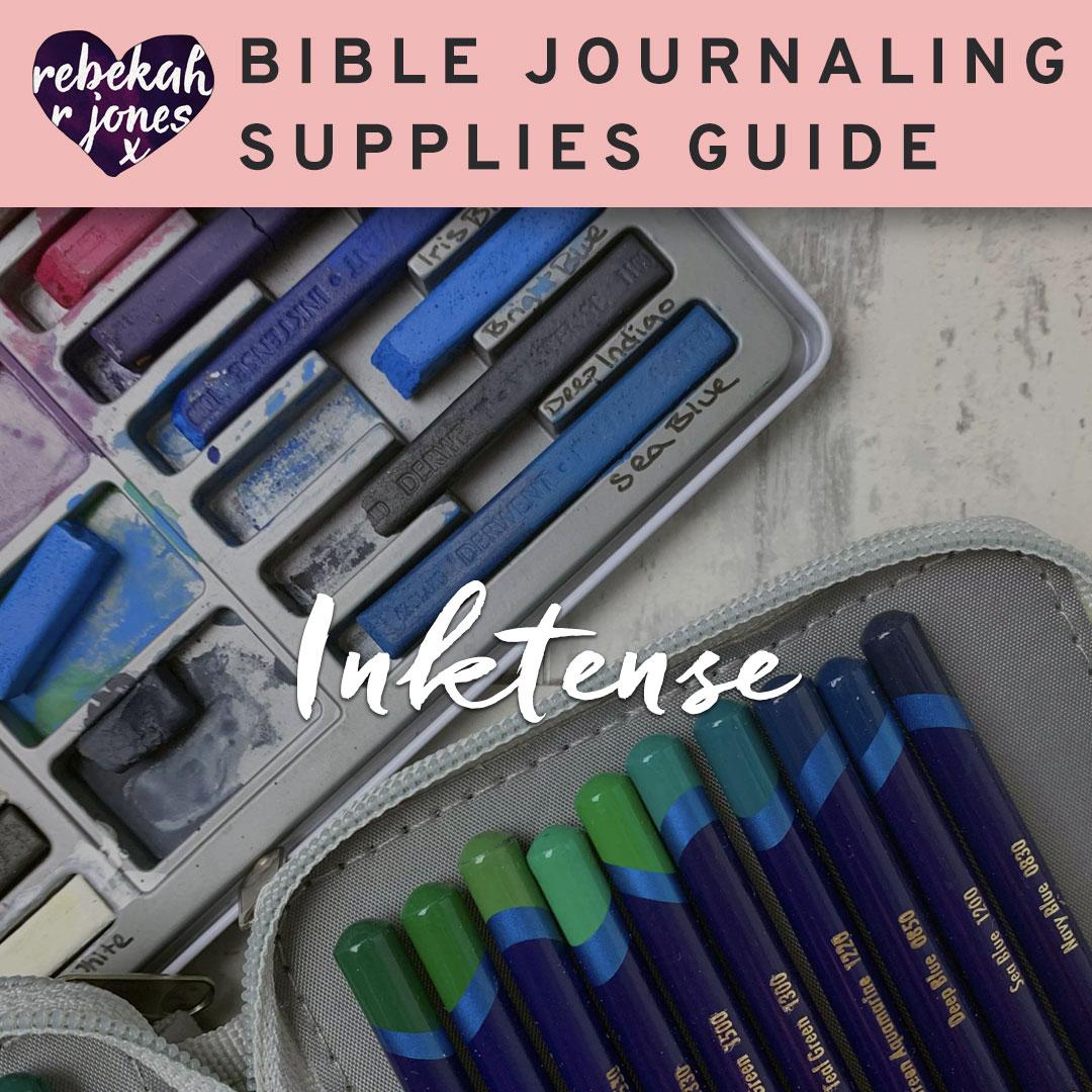 Bible Journaling Inktense